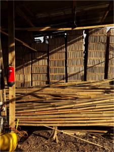 Bambuskisten fertig